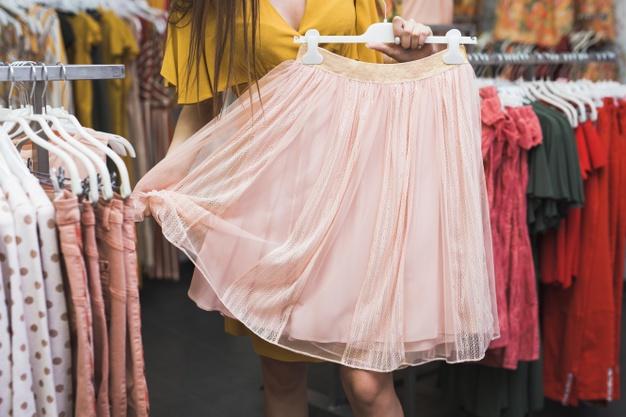 nederdele i store størrelse
