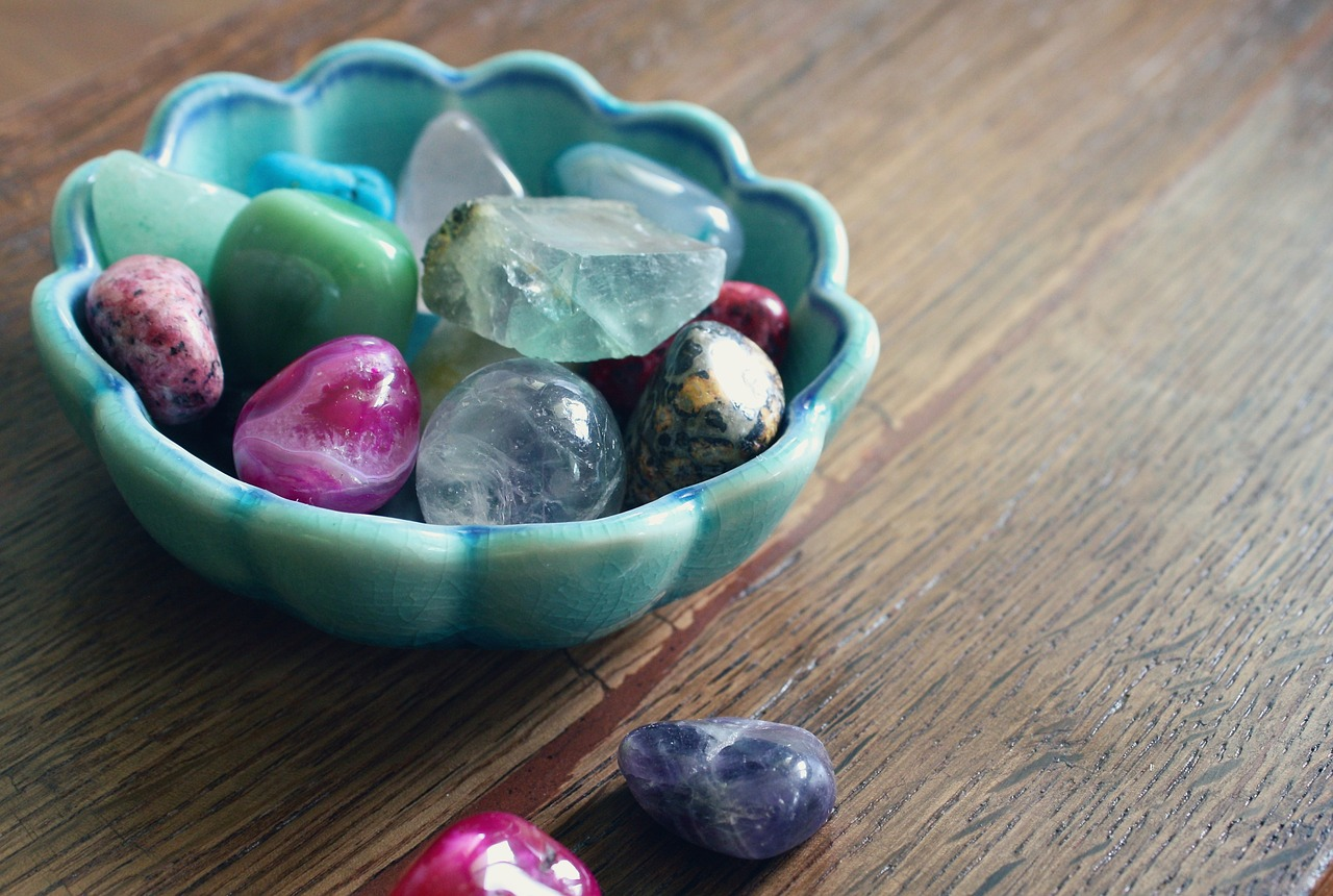 krystaller til mala kæde